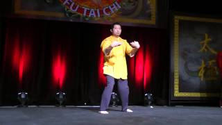 HKB Wing Chun California | Kung Fu Gala Tiger Claw Stage Demonstration 4 | Call 949-415-8885
