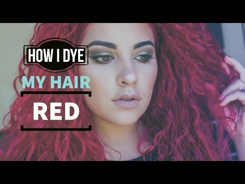How To Dye Your Hair Red From A Dark Shade Without Bleaching