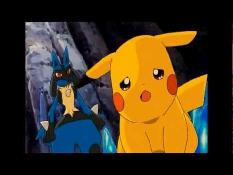Pikachu and Ash Moment