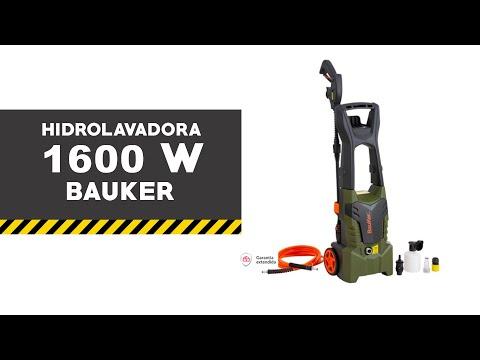 Hidrolavadora Bauker 1600 W eléctrica 117 Bar