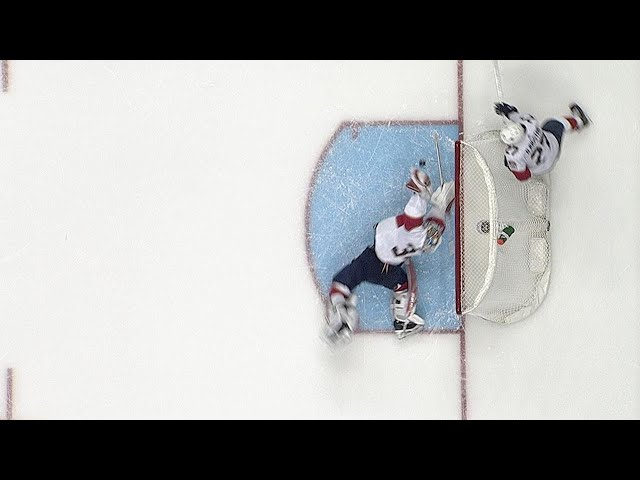 James Reimer dives to make incredible glove save
