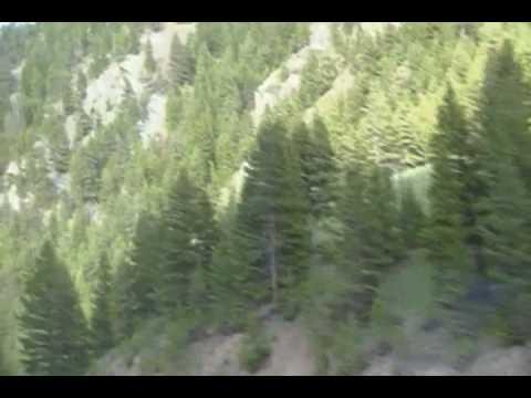 Wolf Creek Canyon Helena to Great Falls, Montana
