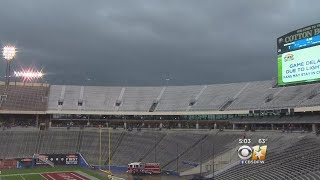 College Bowl Game Cancelled In Dallas Due To Lightning
