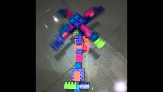Helikopter dari mainan lego