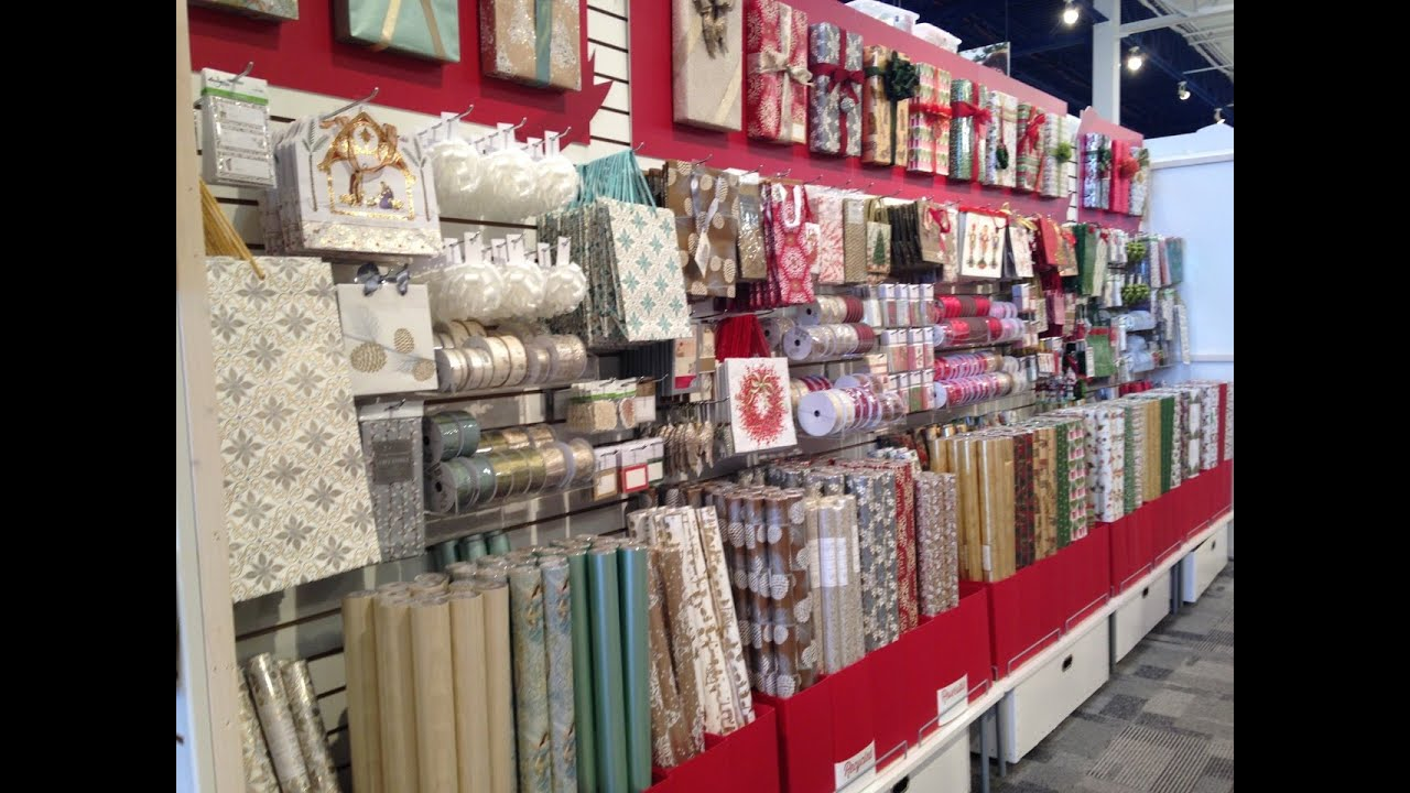 The Container Store39s Gift Wrap Wonderland Tour Holiday