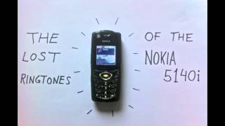 The Lost Ringtones Of The Nokia 5140i (2005)