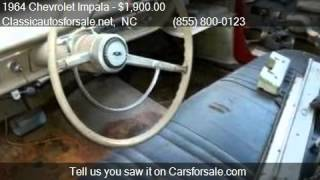 1964 Chevrolet Impala  for sale in Nationwide, NC 27603 at C #VNclassics
