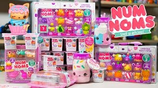 HUGE Num Noms Surprise Eggs Opening Toy Party Fun Cute Toys for Girls Kinder Playtime
