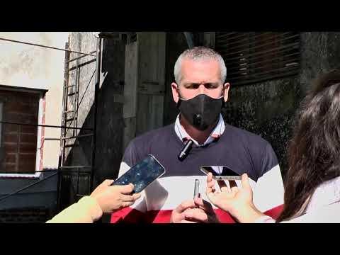 Declaraciones del Intendente Placenzotti sobre la entrega de imágenes