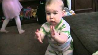 Oliver Clapping - 9 Months Thumbnail