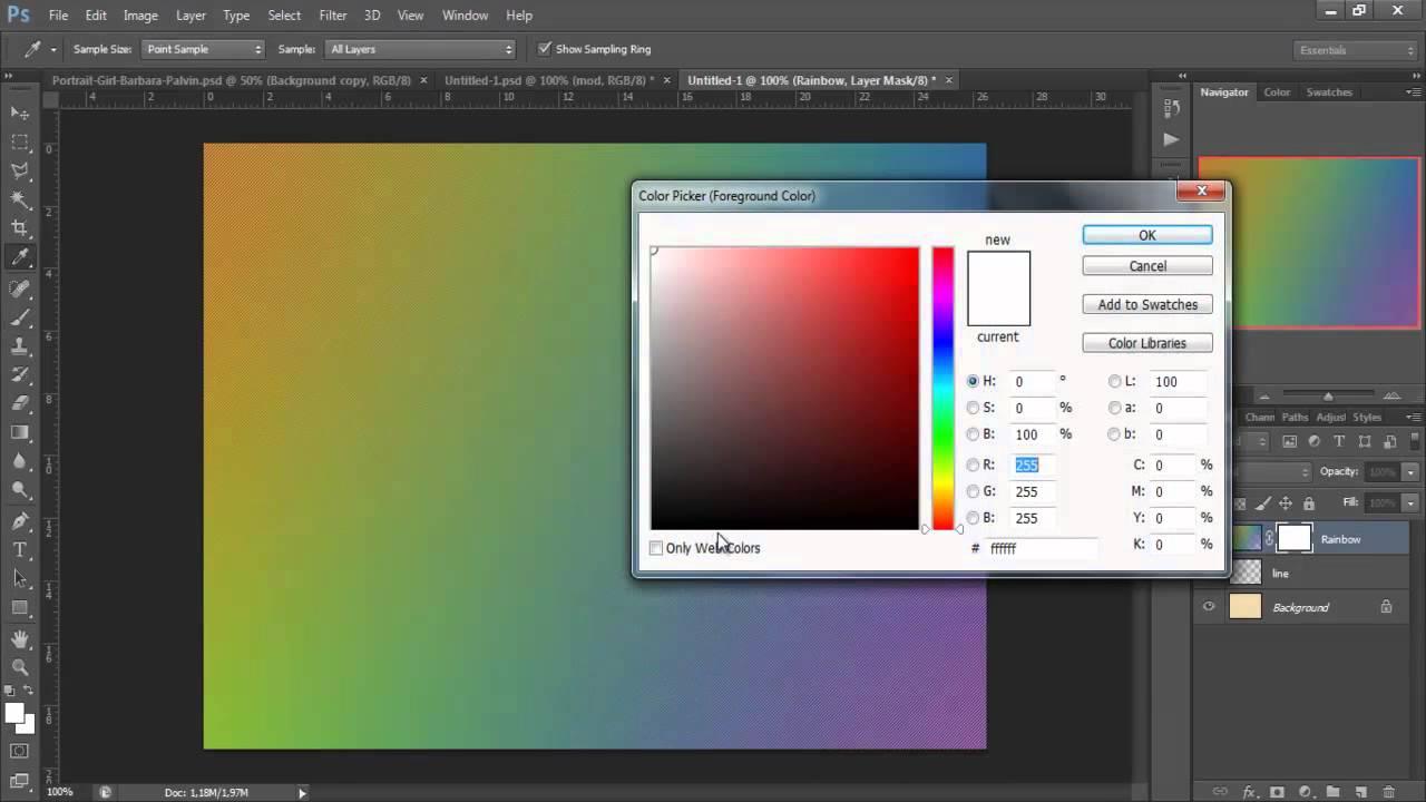 Tạo hiệu ứng màu sắc bằng Channel Alpha trong PhotoShop