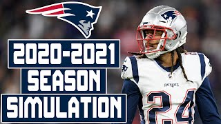 New England Patriots 2020-2021 Season Simulation (Madden with Updated Rosters)
