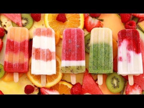 Fruit Popsicles: 5 All-Natural Summer Frozen Treats - Gemma's Bigger Bolder Baking Ep 126
