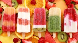 Fruit Popsicles: 5 All-Natural Summer Frozen Treats - Gemma's Bigger Bolder Baking Ep 126