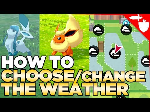 *NEW* How to CHOOSE / Change the Weather in Pokemon Sword and Shield (Also Fog, Sandstorm & Hail)