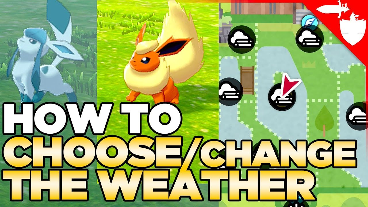 How To Choose Change The Weather In Pokemon Sword And Shield