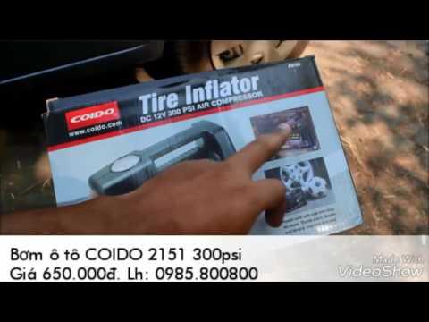 Bơm ô tô COIDO 2151 300psi: 0985800800