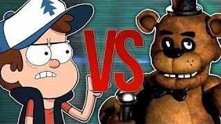 Мишка фредди VS Гравити фолс рэп битва