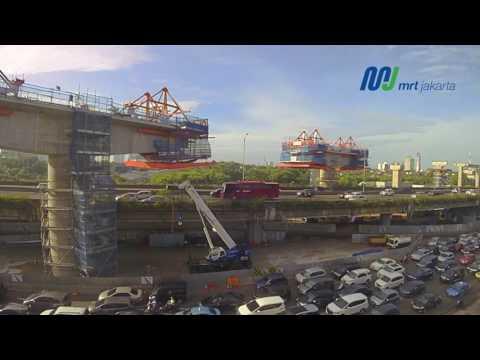 Kemajuan Proyek MRT Jakarta per 30 April 2017