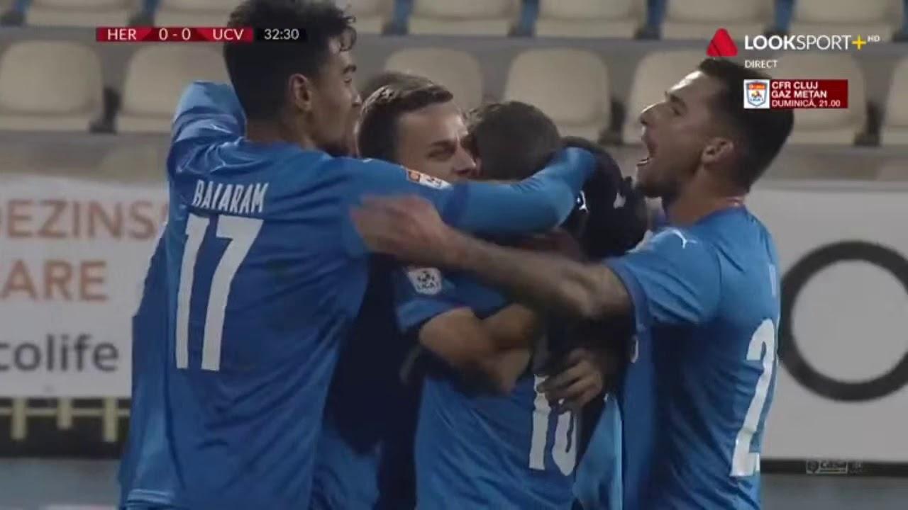 gooool Bancu! Oltenii deschid scorul Hermannstadt - U Craiova 0 -1