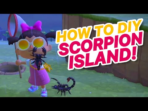 How To Catch A Scorpion! How To DIY Scorpion Island 450k BELLS IN 30MIN Animal Crossing New Horizons