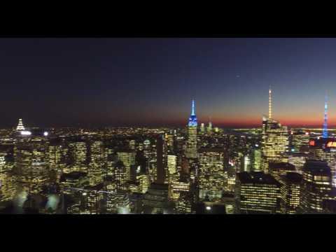 Pohled z Rockefeller Center - Top of the rock(2)
