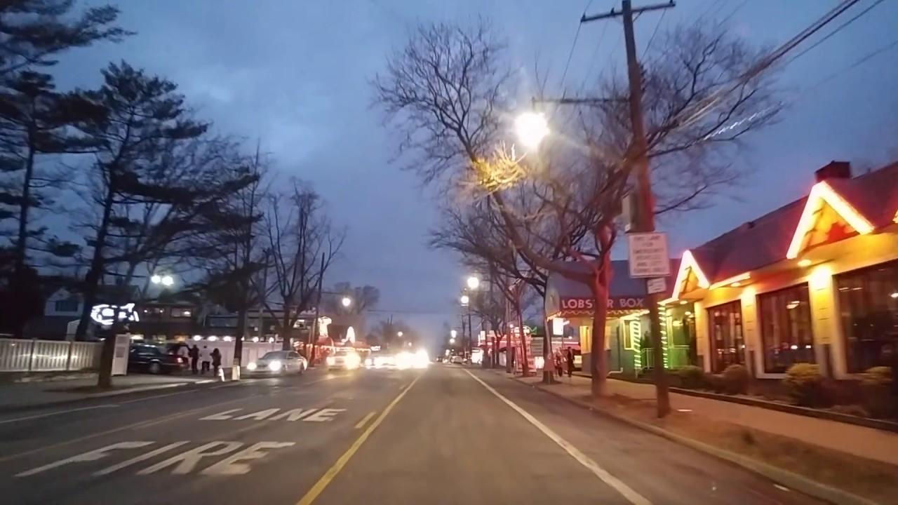 driving by city island bronx new york youtube