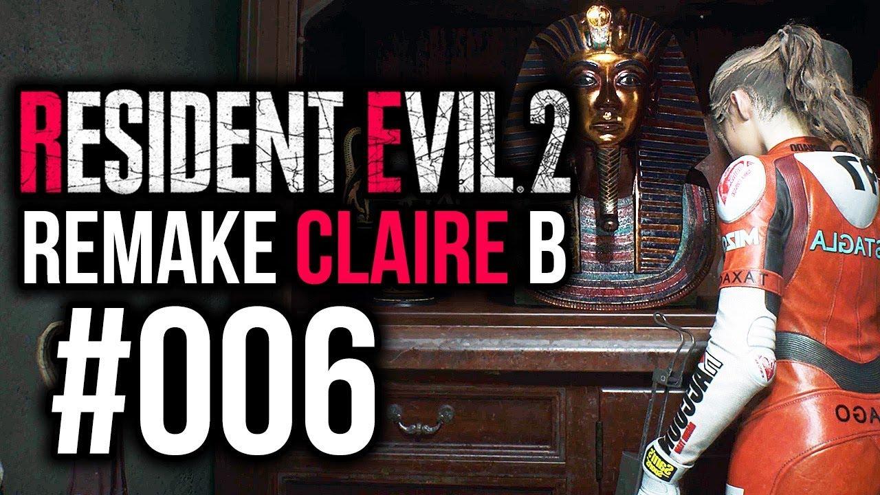 Resident Evil 2 Remake Claire B Veteran 006 Der Herzschlüssel