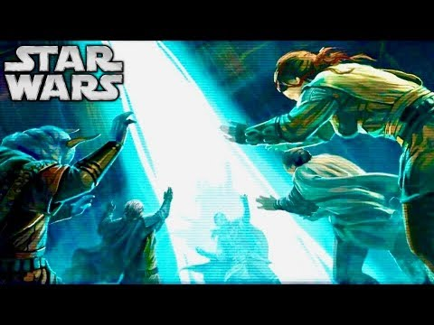 The Most Powerful Offensive Force Ability Accepted by the Jedi Order - Wall of Light Explained