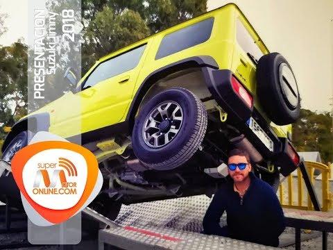 Presentación Suzuki Jimny 2018 / Al volante /  Toma de contacto / Review / Supermotoronline.com