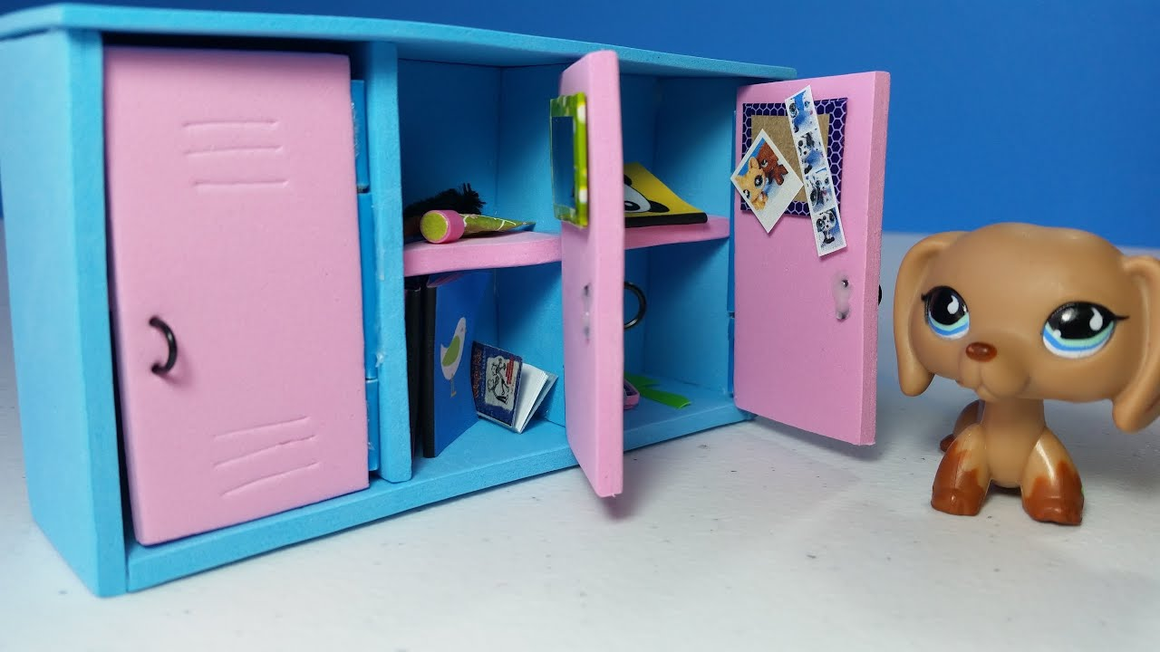 Diy doll lockers for lps or mlp youtube diy doll lockers for lps or mlp solutioingenieria Images