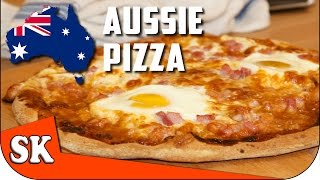 HOW TO MAKE THE PERFECT PIZZA - Egg and Bacon Aussie Pizza