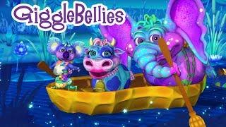 Row Row Row Your Boat | Nursery Rhymes | GiggleBellies