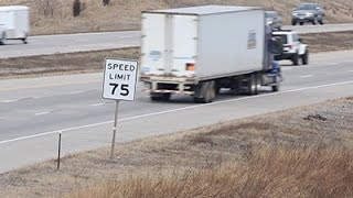 AP Probe: Truck Tires and Speed Limits Don
