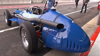 Maserati 250F T3 'Piccolo' - Lovely Exhaust Sounds!