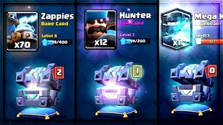 Clash Royale - 17x LEGENDARY KING'S CHEST OPENING!