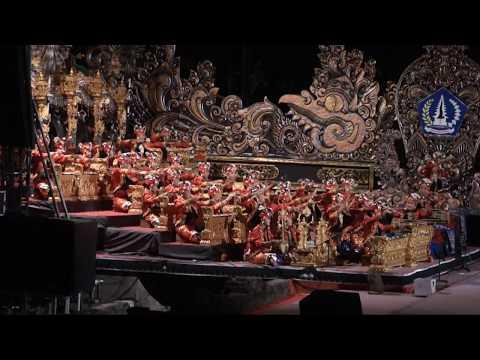 Tabuh Telu Lelambatan (PKB2017, Parade Gong Kebyar Anak-anak duta Kab.Badung)