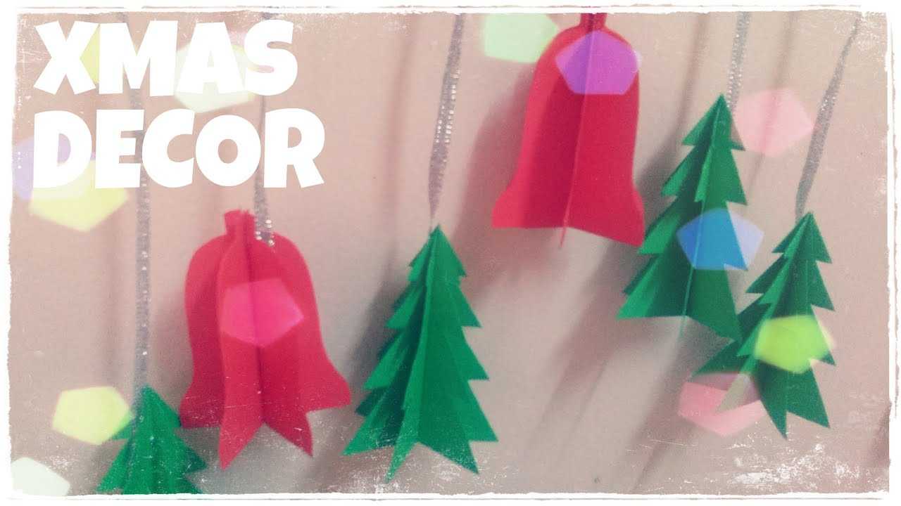 Easy homemade paper christmas decorations - Easy Homemade Paper Christmas Decorations 34