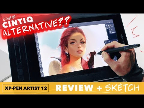 xp-pen-artist-12-tablet-review-and-sketch!