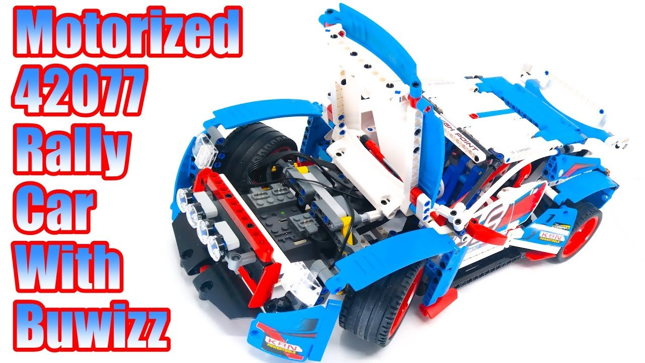 Instructions For Motorization Of Lego Technic 42077 Rally Car