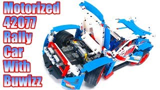 Instructions for motorization of Lego Technic 42077 - Rally Car