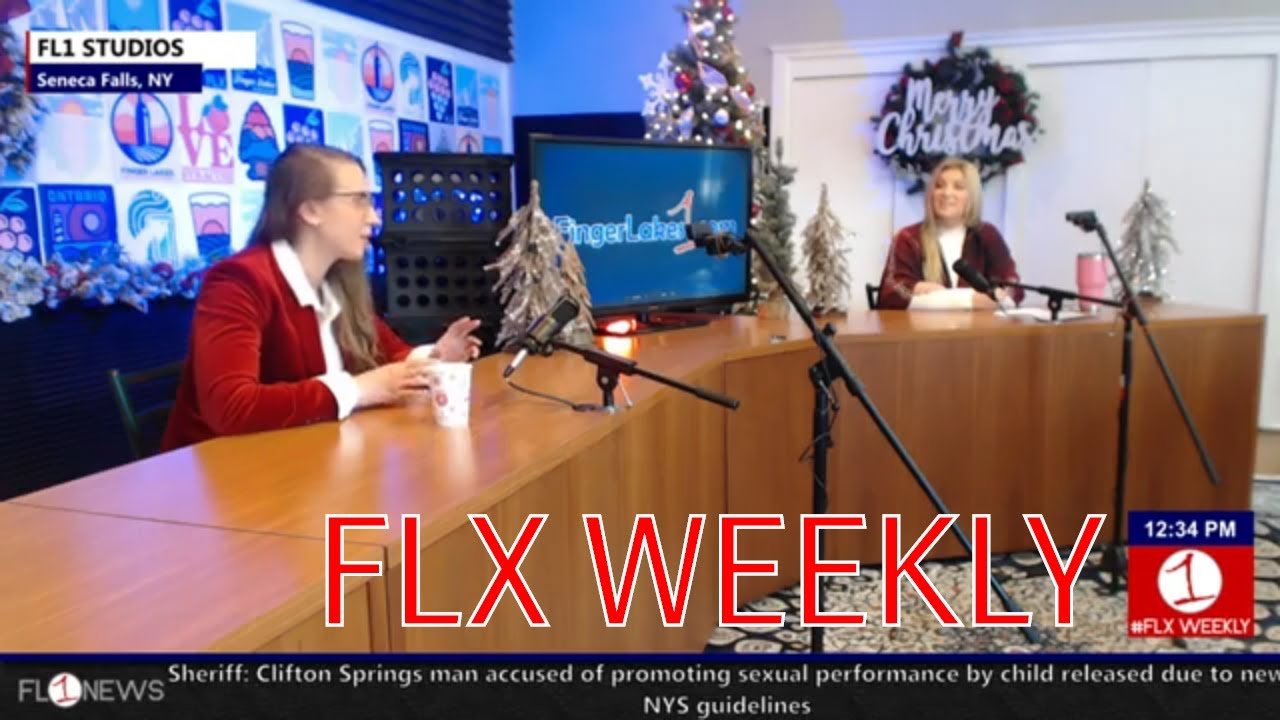It's A Wonderful Weekend in Seneca Falls & Kristin Bauer in-studio .::. FLX Weekly 12/11/19