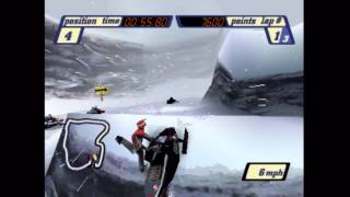 Sled Storm (PS1) Gameplay