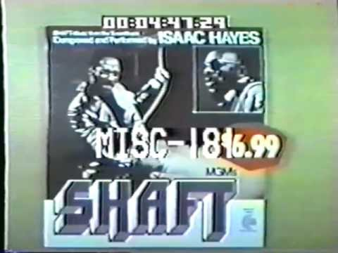 1972 Sears Commercial promoting the Isaac Hayes LP Catalog
