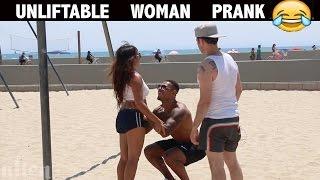 Unliftable woman PRANK 😂-Julien Magic
