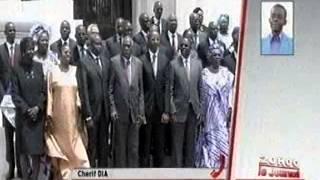Remaniement du gouvernement de Macky Sall - 29 Octobre 2012