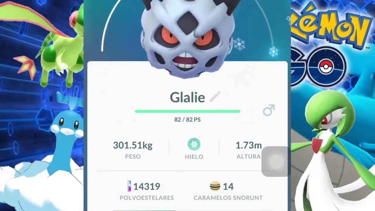 Evolucion Snorunt Shiny Pokemon Glalie Wwwmiifotoscom