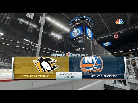 NHL 17 (PS4) - 2017-18 - Game 36 @ Islanders