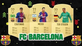 Fifa 19 fc barcelona player ratings prediction   ft. messi, coutinho, ter stegen... etc #fifa19 #barcelona #prediction #fut19 #messi #coutinho #ter stegen #r...