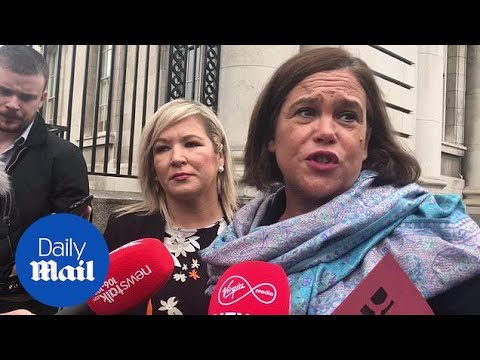 'May has failed to challenge the DUP': says Mary Lou McDonald